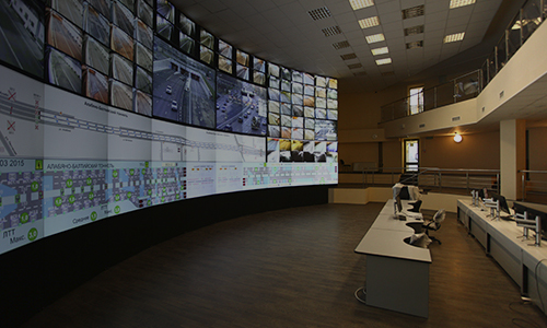 Control and situation centers
